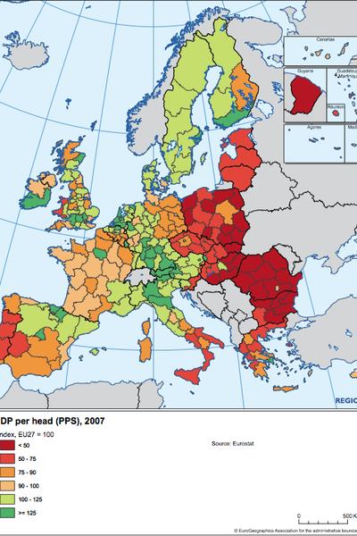 GDP per head